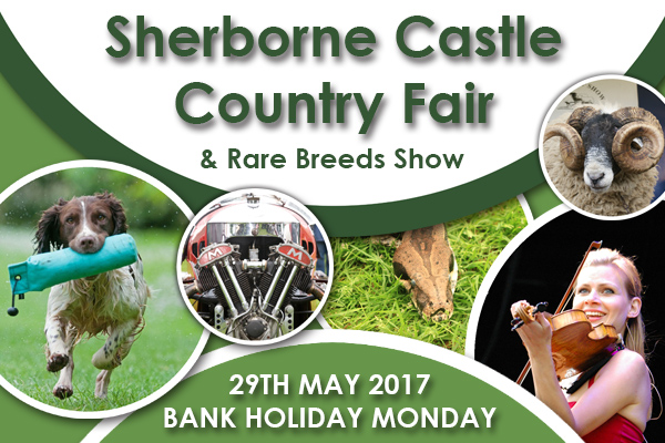 Sherborne Castle Country Fair - 29th May 2017