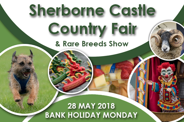 Sherborne Castle Country Fair - 28th May 2018