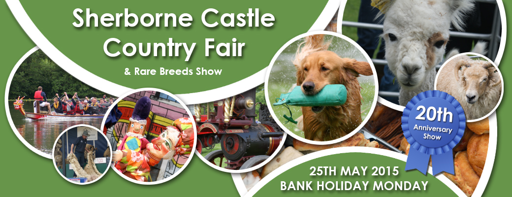Sherborne Castle Country Fair - 25th May 2015