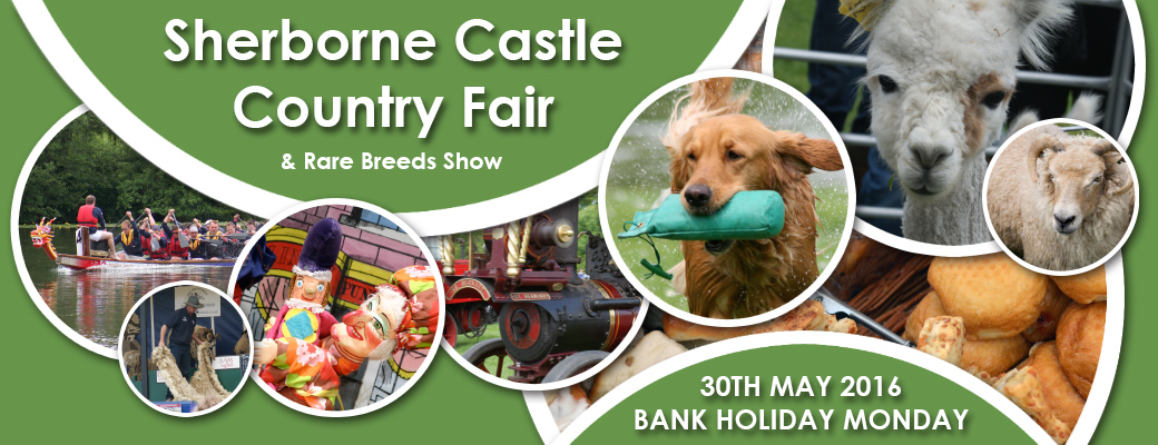 Sherborne Castle Country Fair - 30th May 2016